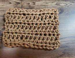 Half Double Crochet Fabric
