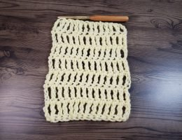 Treble Crochet Fabric