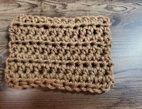 Half Double Crochet Fabric